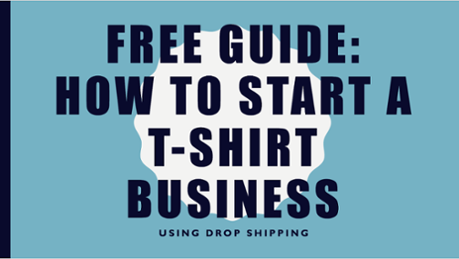 how to start a t shirt business